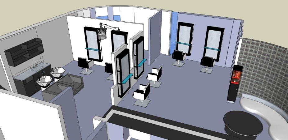 Interieur hoba ingeruild showroommodel en tweedehands for 3d schets maken
